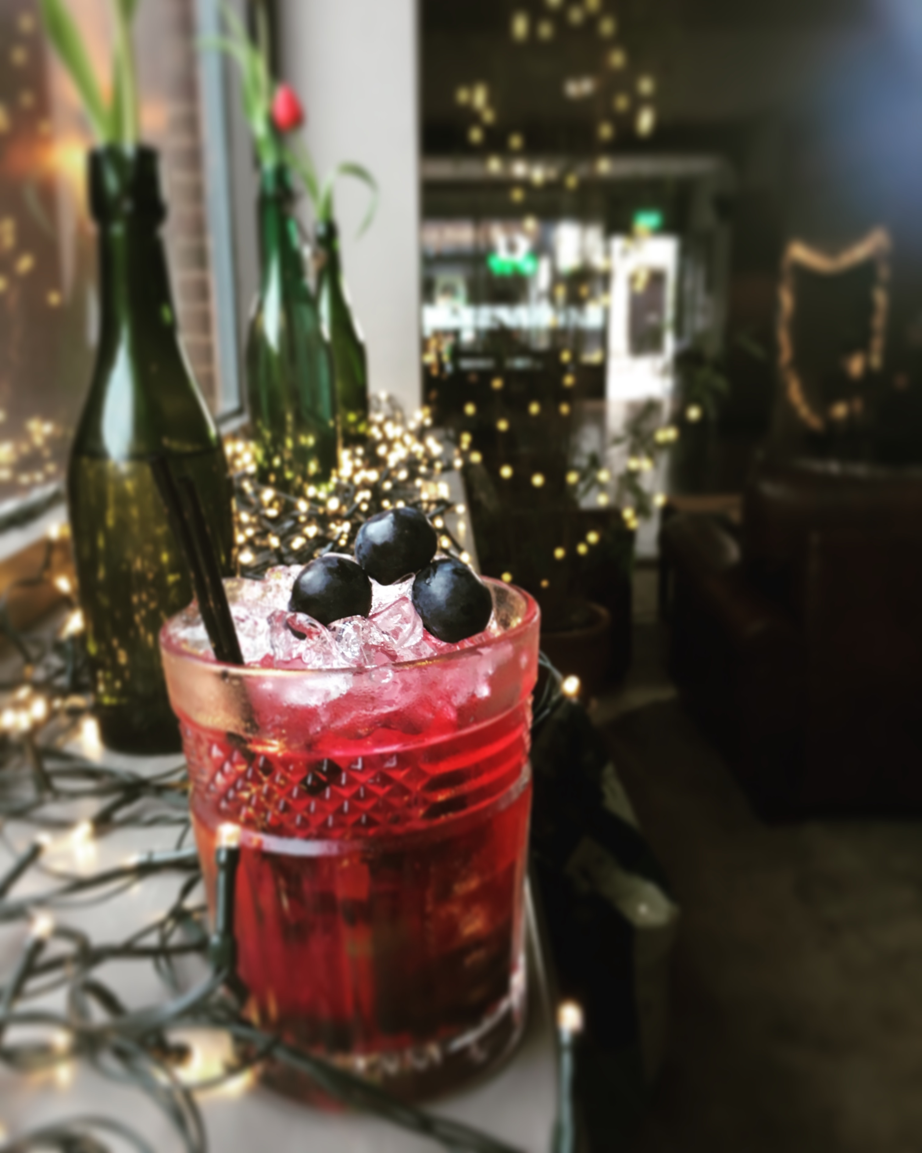 blueberry caipirihna