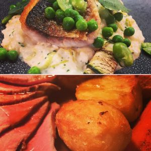 sunday lunch montage